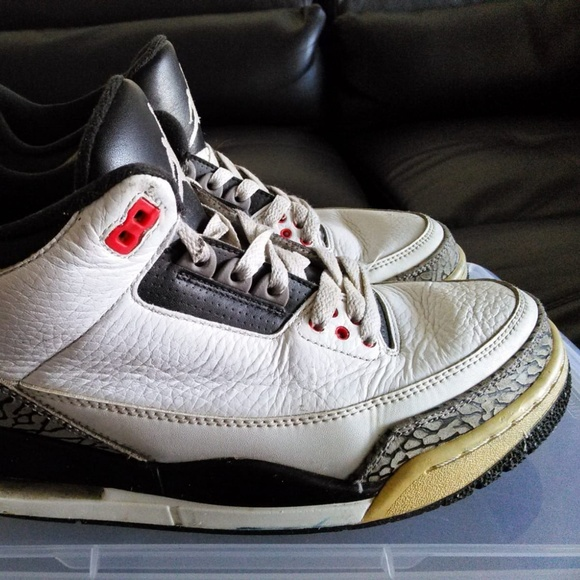pretty nice c593b 919d8 Jordan Retro 3 Infrared 23 Basketball Sneakers.